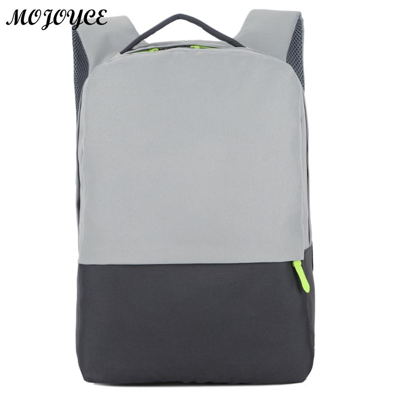 afa65f6d1b81 Men Laptop Backpacks For 15.6 inch Computer Anti-theft Bags Male Gray  Daypack Women Leisure