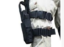 Tactical Drop Leg Pistol Holster Pouch Bag Black free shipping