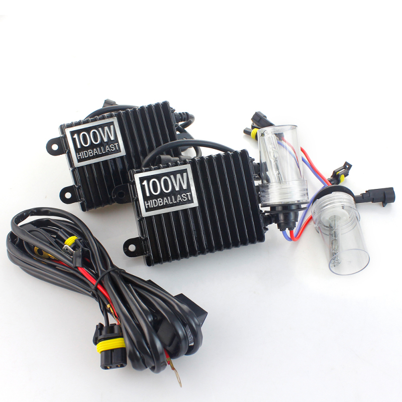 12V 100W HID Xenon Kit Replacement Conversion Bulbs Car Headlight Single Beam H1 H3 H7 H11 3000K 4300K 5000K 6000K 8000K 10000K 35w h13 xenon 8000k h4 single bulb car xenon bulbs h3 h7 hidlights h8 h9 h11 xenon hid lights for car 3000k 4300k 5000k