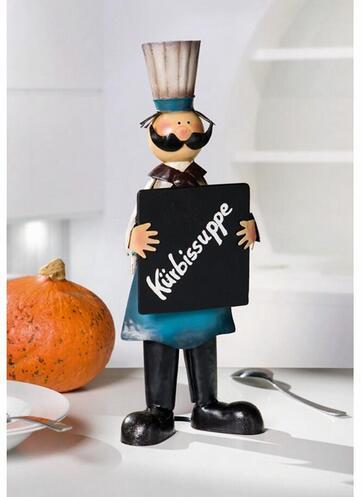 Livraison gratuite, 40*17*8 cm, décor de fer de Restaurant de cuisine européenne d'exportation mignonne, Menu de décoration de tableau noir de grand Chef, décor de jardin.
