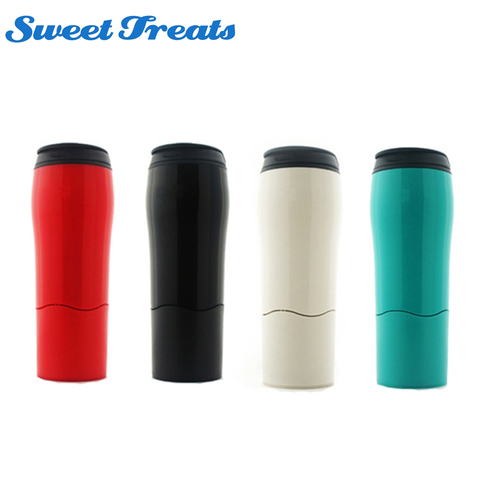 Sweettreats Portable Sucker Water Bottle Tumbler Magic Sport Bottle Push Not Pour Home Strong Grip Water Bottle