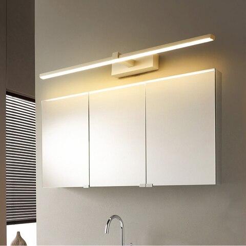 quarto cabeceira arandela lampe deco anti nevoeiro espelho