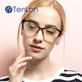 Moda estilo gato óculos moldura para mulheres óculos óculos feminino óculos de grau marca designer de moda óculos de armação mulheres wzM