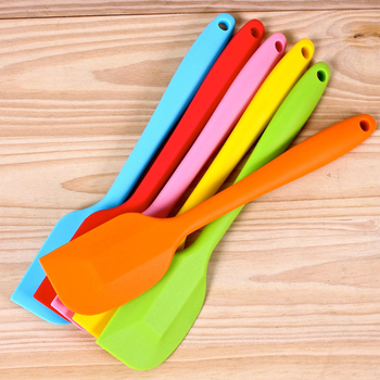 New Kitchen Silicone Cream Butter Cake Spatula Batter Scraper Mixer Cake Baking Tool Kitchenware