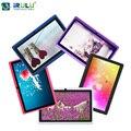 X1 7 ''la tableta irulu 1.5 ghz quad core android 4.4 16 gb rom Soporte OTG WIFI de doble Cámara de Tablet PC Con Multi Color Caliente venta