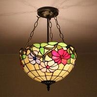 Свет анти Европейский ретро американский стиль спальня подвесной светильник столовая прихожая лестницы балкон сад DF8 lo9