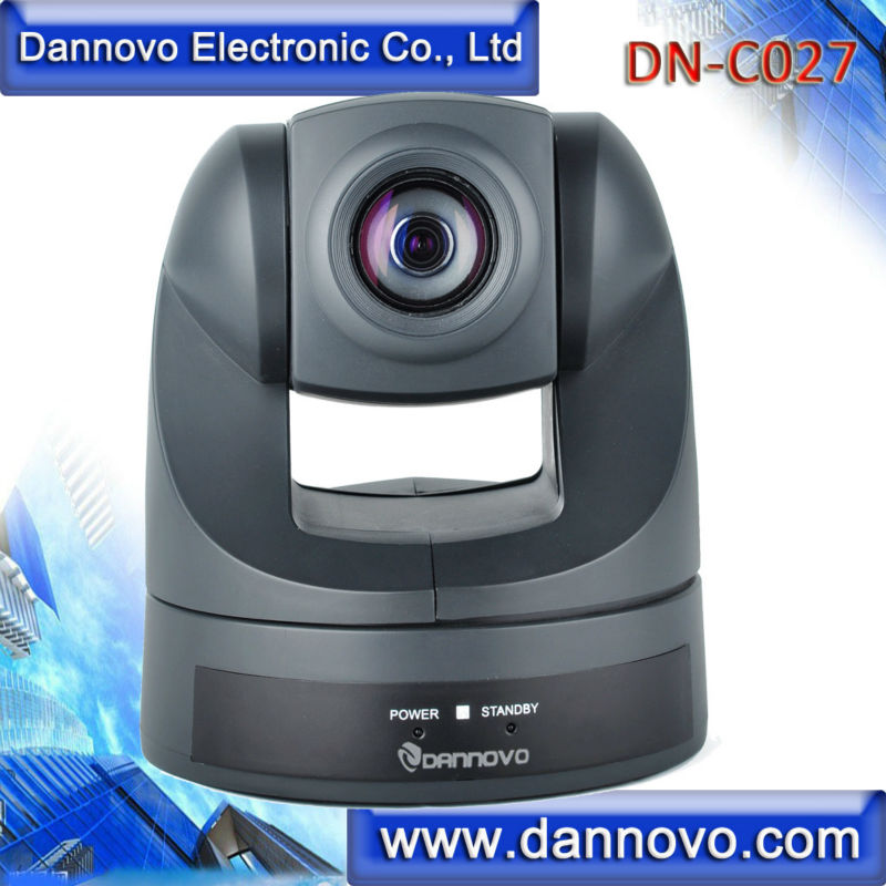DANNOVO China D70P Desktop Video Conferencing Room Camera, 18X Optical Zoom,AV and S-Video Output,Support VISCA, PELCO