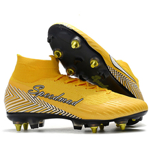 4e14461401d SG Football Shoes AC Steel Spikes Soccer Cleats Superfly VI 360 Elite CR7 Boots  Men Zapatos