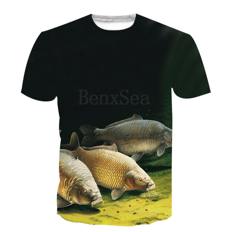 Men/'s t-shirt fish bones decal tee shirt for men fishing design tattoo style