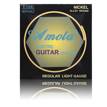 Amola E1200 009-042 Electric Guitar strings Copper Nickel alloy Musical instruments strings image