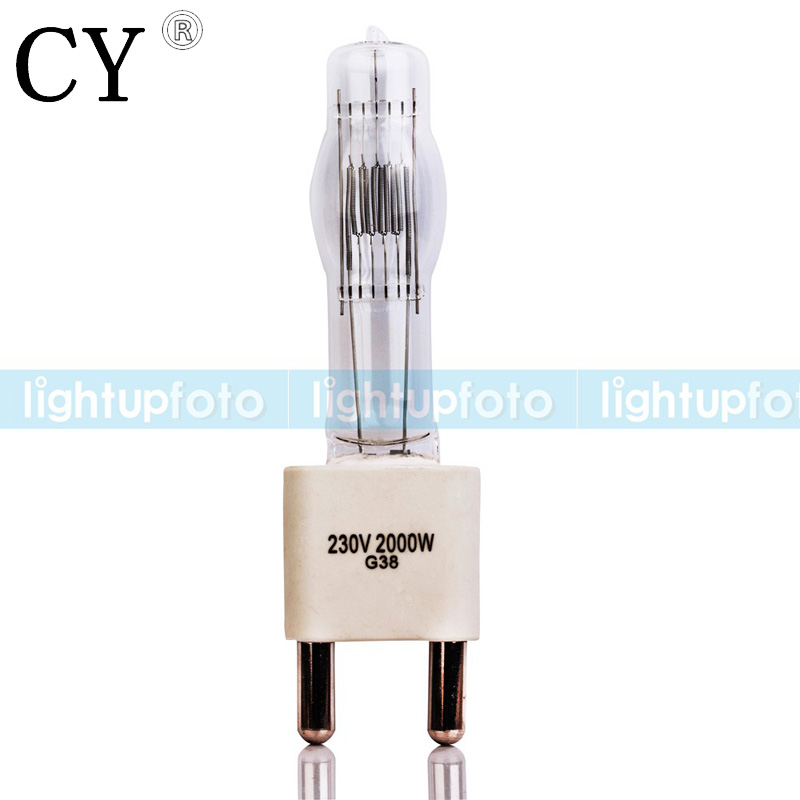 Halogen Tungsten Bulb for Fresnel Continuous Light 2000w studio light bulb photography accessories PAV5-2000