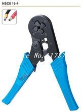 HSC8 16-4 Self-Adjustable Cable End-Sleeves Ferrules AWG 12-6 4-16mm2 Crimper Piler