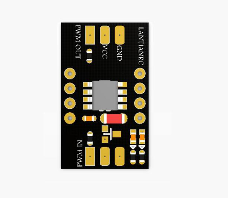 1PC Steering Gear Inverter Module Servo Direction Inverter Board Positive To Negative Negative To Positive CW To CCW CCW To CW