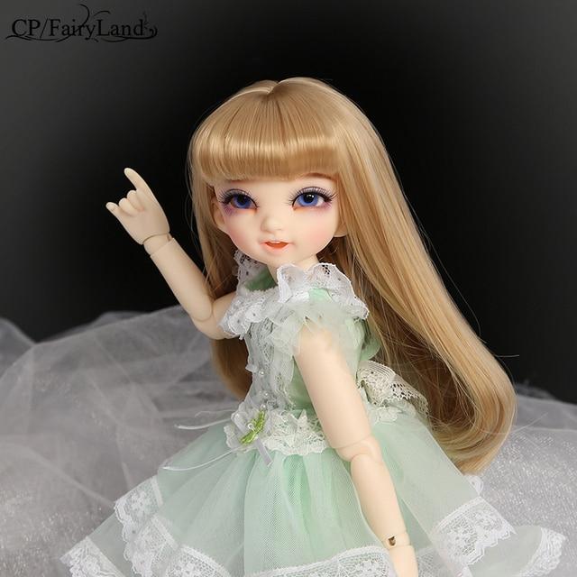 Free Shipping Fairyland Littlefee Reni BJD Dolls 1/6 Fashion Resin Figure High Quality Toy for Girls Oueneifs Dollshe Iplehouse 2