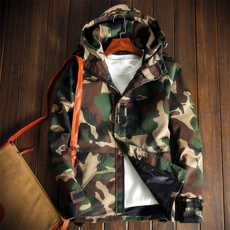 2017 New Arrival Mens Casual Camouflage Jacket Military Style Men Camo Coats Man Tactical Outerwear jaqueta masculina 040508