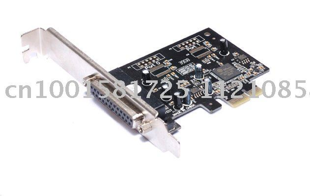 1 Parallel Port IEEE 1284 Printer Port PCI Express Card