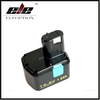 14.4V 1500mAh Rechargeable Battery for Hitachi EB1414S EB 1412S, EB 1414, EB 1414L, EB 1414S C 2, CJ 14DL, DH 14DL, DS 14DAF2,