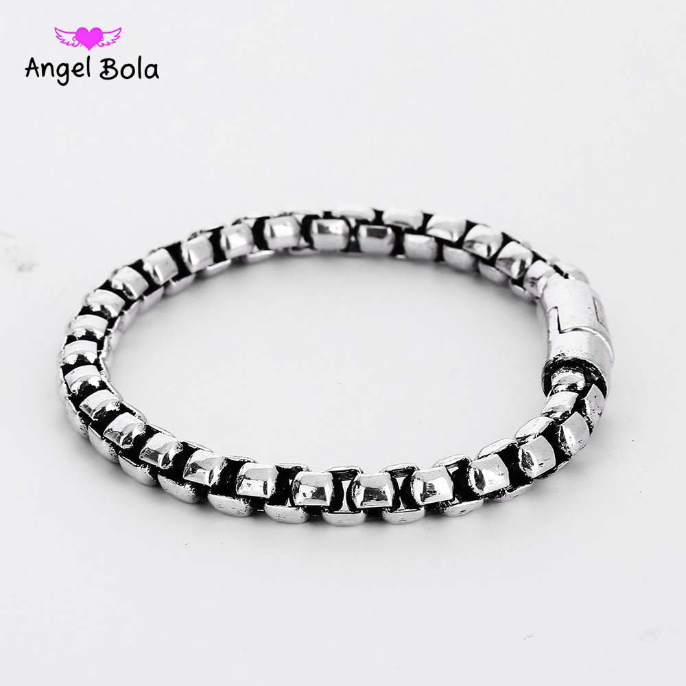 Healthy Magnetotherapy Ancient Silver Bracelet Jewelry New Fashion Bio Energy Magnet Buddha Bracelets & Bangles B1207-6