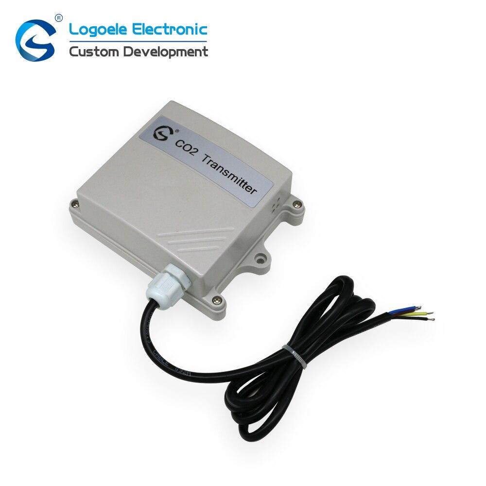 Sensor de Gás do Detector do Dióxido de Carbono do Transmissor do Co2 do Transmissor do Co2 de Alta Transmissor Alta Qualidade 4-20ma – 0-10 v 0-5 do Co2 de