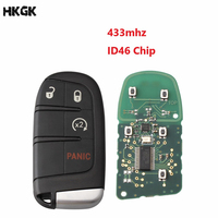 4 Button Smart Remote Key 433Mhz ID 46/PCF7953 Chip For Chrysler Dodge Charger Journey Challenger Durango 300 keys