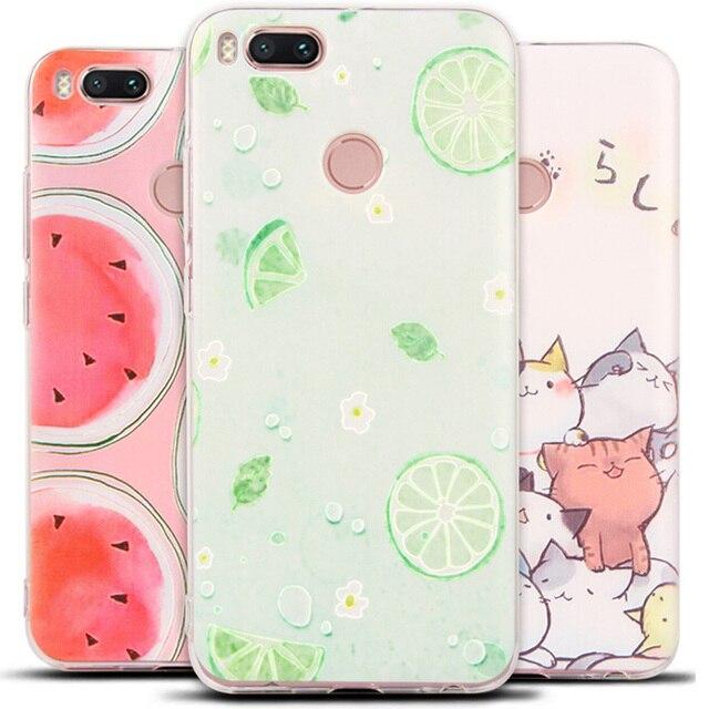meet c03f8 b84b6 US $3.93 |Case For Xiaomi Mi A1 Cover 3D Cute Landscape Soft TPU Cover For  Xiaomi Mi5X Case Silicone Phone Cases MiA1 Mi 5X Fundas 5.5 -in Fitted ...