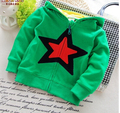 Free shipping 2017 spring and autumn male female child double layer cap outerwear casual children cardigan baby trend