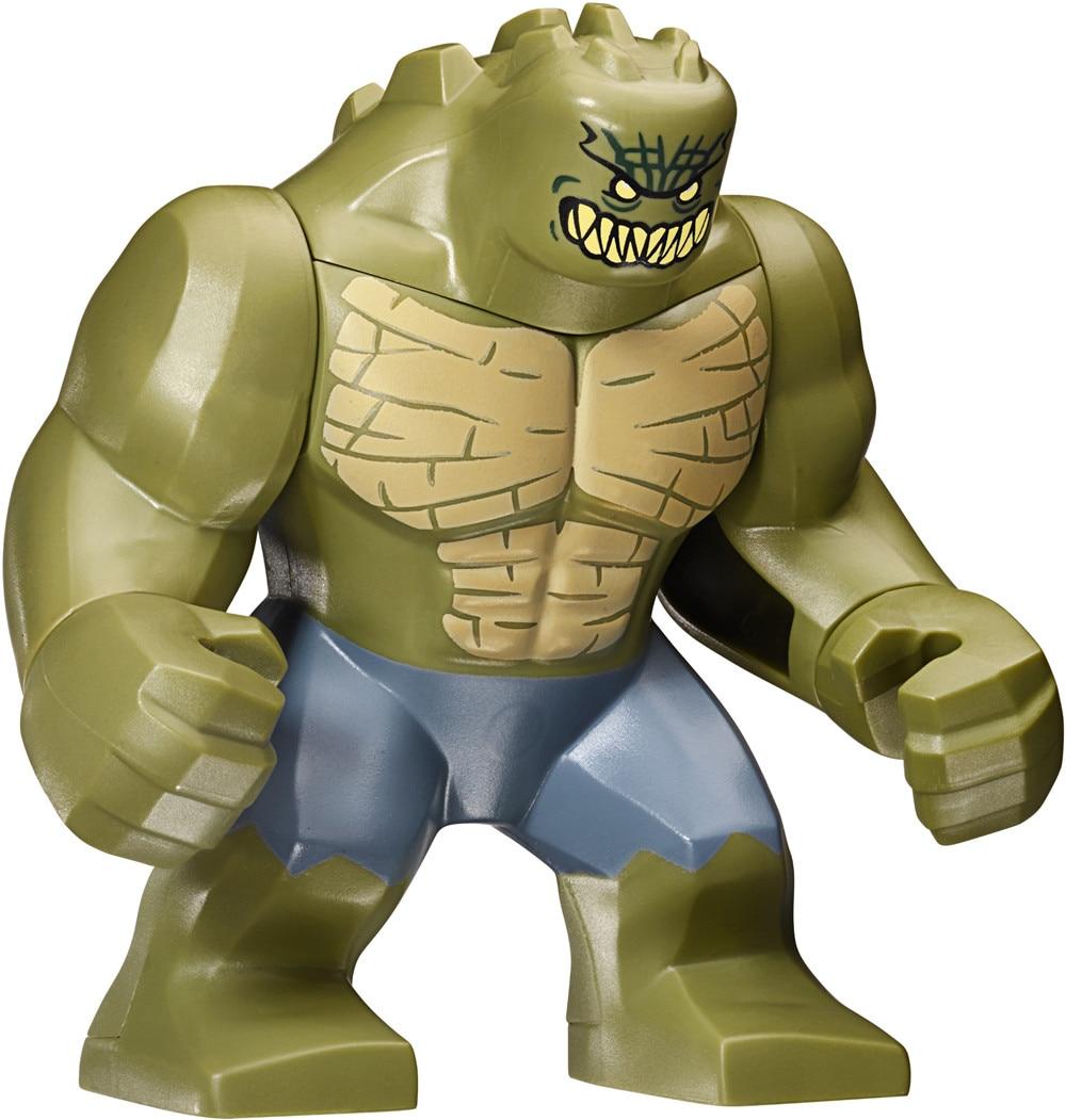 Singlesale Big Killer Croc Waylon Jones Suicide Squad Justice League Super Heroes -7948
