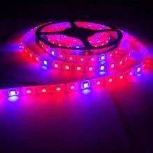 Светодиодный Фито лампы полного спектра светодиодные полосы света 300 светодиодный s 5050 Чип светодиодный Fitolampy растут огни для теплицы гидропоники завод Fita