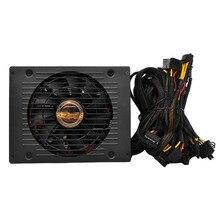 Высокая эффективность Номинальная 1800 Вт Шахтер Питание все Провода с сеткой для ПК добычи Шахтер машина с низкой Шум охлаждения вентилятор