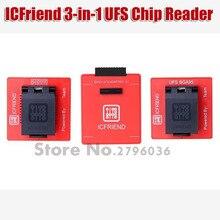 2020 nouvelles MOORC icfriends UFS 3 en 1 prend en charge UFS BGA 254 BGA 153 BGA 95 avec Z3X Easy Jtag Plus Box et UFI BOX