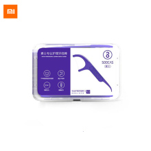 ФОТО Xiaomi Soocare Professional fine Dental Foss Picks Ergonomic Design FDA Testing Food  50PCS/BOX