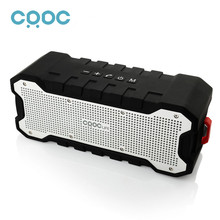 CRDC Bluetooth Speaker Outdoor Portable Wireless Waterproof Speaker with Enhanced Bass Dual 5W Drivers / A2DP /30-Hour Playtime