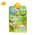 Hot sell 60x40cm Baby Touch Play Musical Carpet Musical Toy Mat Singing Musical Play Mat for Kids Farm animal sounds Play rugs