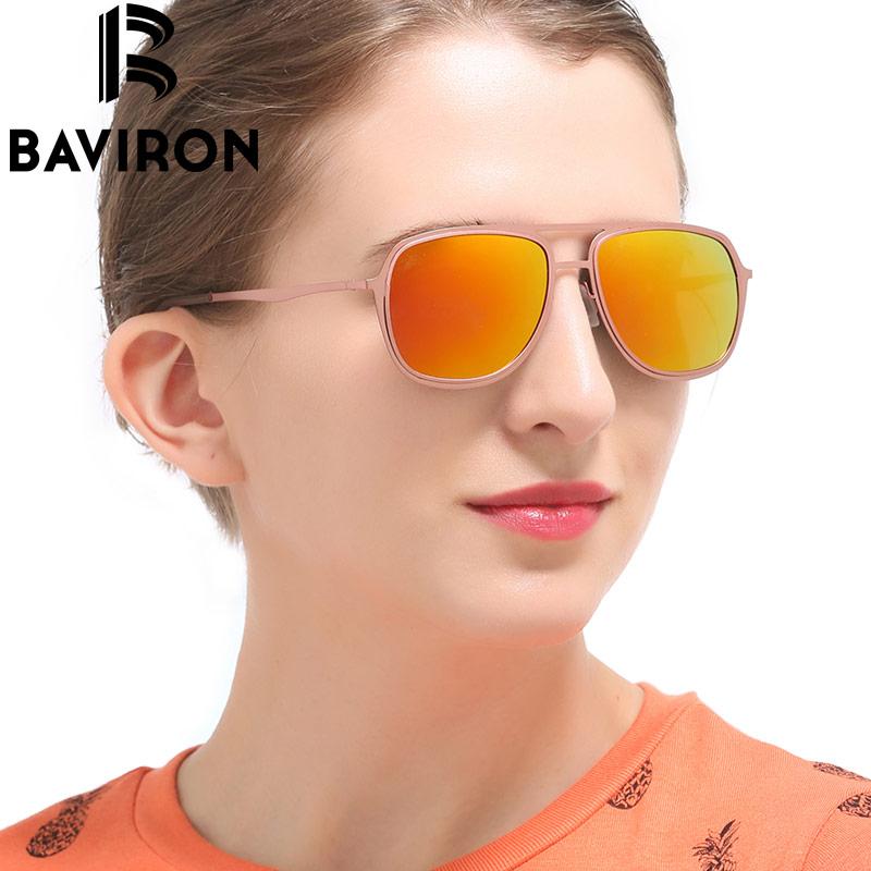 BAVIRON Kacamata Percontohan Klasik Lelaki Cermin Kacamata Mengemudi - Aksesori pakaian - Foto 2