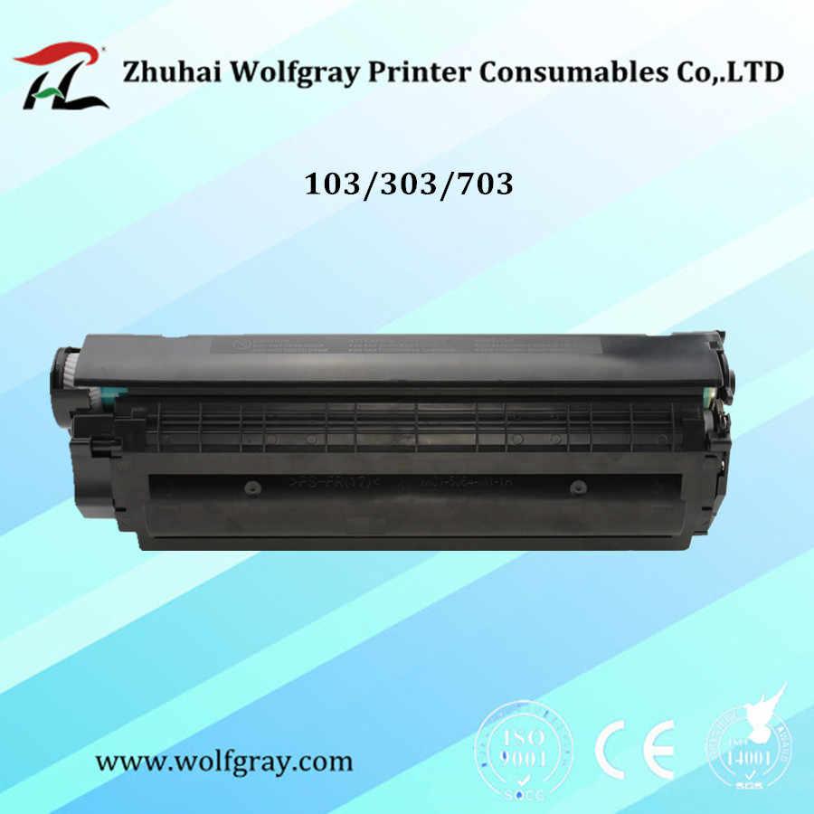 תואם מילוי קל CRG-103 CRG-303 CRG-703 עבור canon lbp-2900/3000 מחסנית טונר