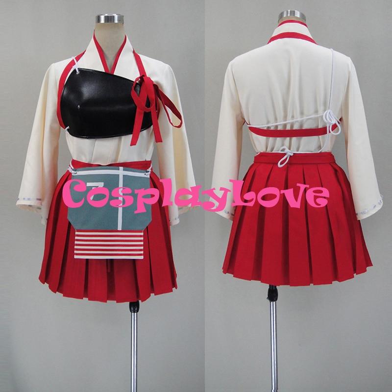 все цены на New Custom Made Japanese Anime Kantai Collection KanColle Akagi Cosplay Costume онлайн