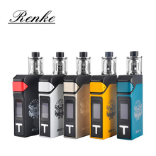 8 fotos originales ijoy solo v2 kit 200 w tc starter Kit con 2 ml Ilimitado Sub Tanque Ohm Vape Cigarrillo electrónico Kit