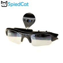 d0591cec3656e Óculos Polarizados óculos Óculos De Sol Câmera Gravador de Vídeo Digital  Mini DV Camcorder DVR Video Camera Esporte Cam