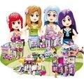 Городской магазин для девочек  строительные блоки  замок  принцесса  друзья  игрушки  друг  кирпичи для девочек  подарки