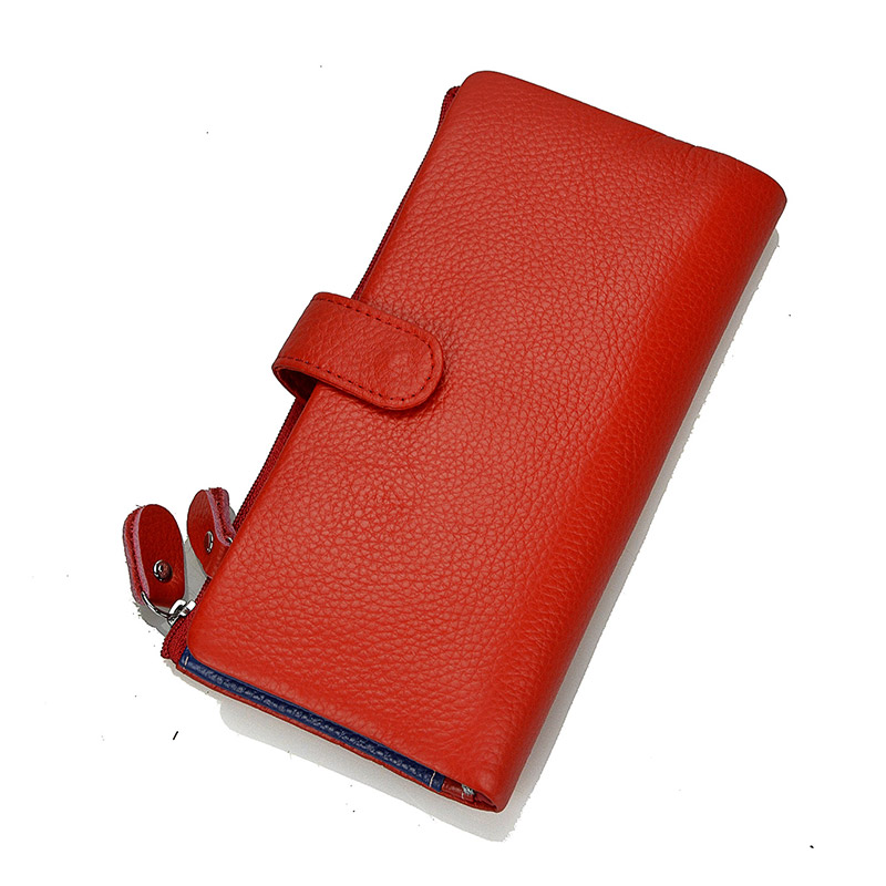 Dreamlizer Brand 2017 Genuine Leather Wallet women Wallets Design Fashion Design Purses for Women Card Holder With Coin Pocket 2017 black pu leather wallet women stone grain wallets brand long design fashion coin purses for women with high quality qd018