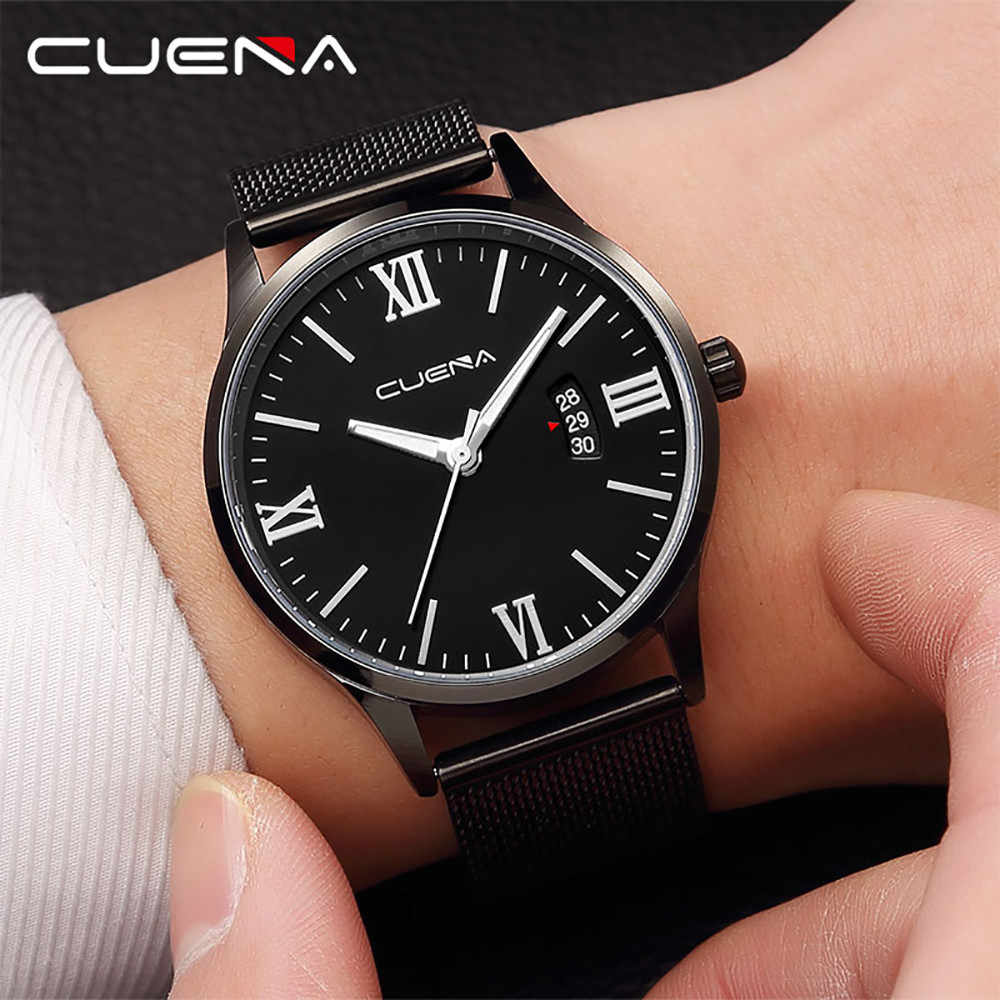 יוקרה שעונים קוורץ שעון נירוסטה חיוג מקרית Bracele שעון שמלת relogio masculino שעון אופנה