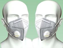 5 pcs Non-woven Mouth Mask Dust-proof Outdoor Riding Face Cover Pm2.5 Anti Smog Breathable Respirator M40
