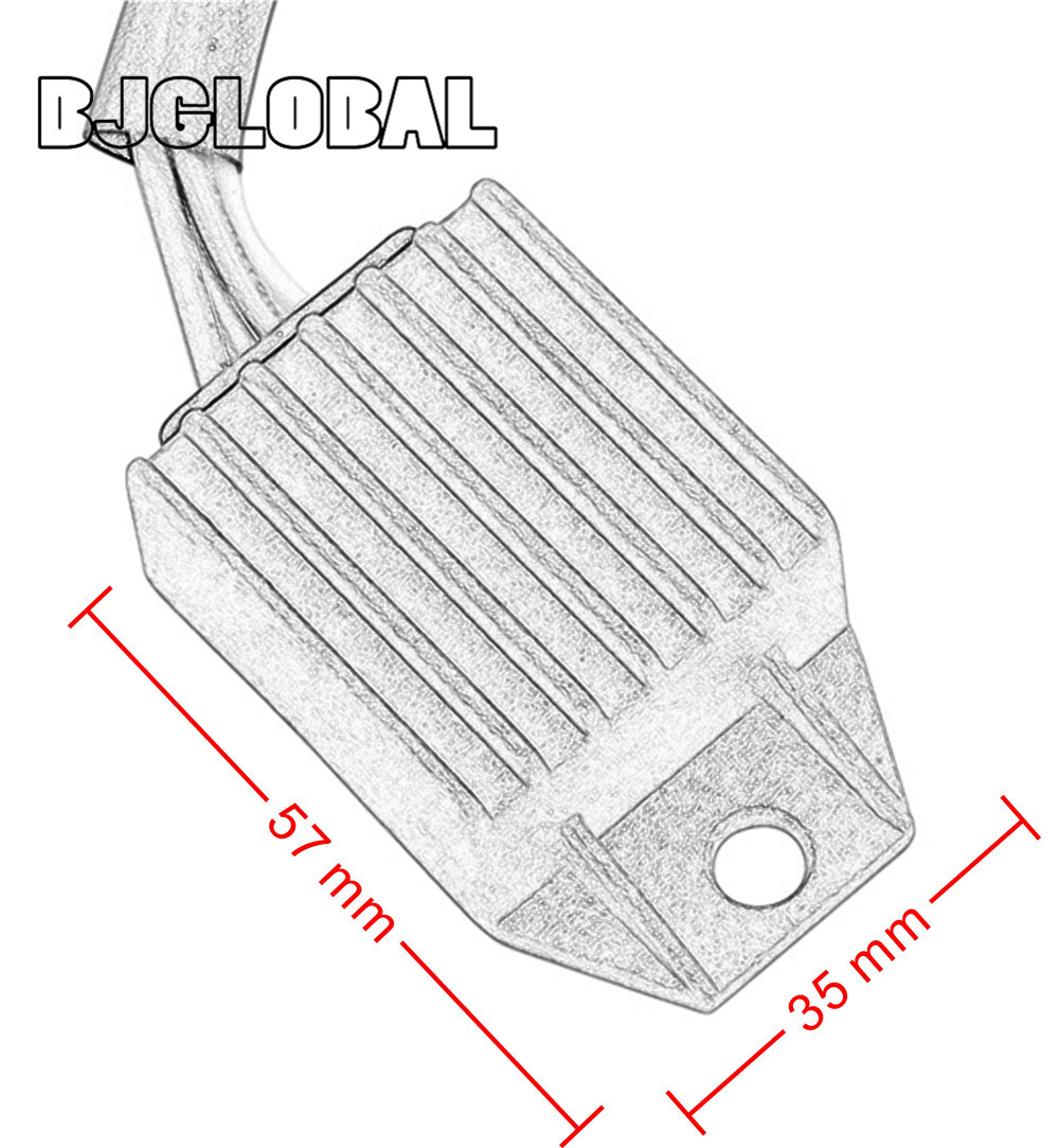 Image 2 - Voltage Motorcycle Boat Regulator Rectifier 12V For KTM 660 530 525 For KTM 450 400 300 EXC XC W XC SMC Scooter Moped Pit Bike-in Motorbike Ingition from Automobiles & Motorcycles