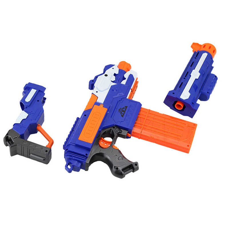 Soft Bullet Toy Gun Sniper Rifle Nerf Plastic 20 Bullets 1 Target Electric N Strike Elite For Child In Guns From Toys Hobbies