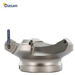 1pc KM12 125 40 6T frez frezowanie indeksowane uchwyt narzędziowy tokarka cnc narzędzie do SEHT1204 wkładki|Frez|   -