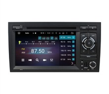 Octa Core 2 din 7″ Android 6.0 Car Radio DVD GPS for Audi A4 2002-2008 With 2GB RAM Bluetooth WIFI 32GB ROM USB Mirror-link