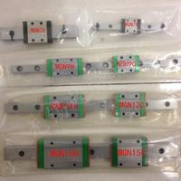 250mm MGN12 Linear Guide Rail 2pc MGN MGN12C Blocks Carriage CNC 3d Printer Linear Shaft