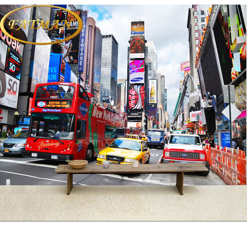 living room times square aliexpress buy photo wallpaper times square new york 13913