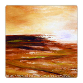 Golden Sunset  oil painting ocean wave  abstract Seascape Oil painting  seaside on canvas hight Quality Hand-painted Painting 2