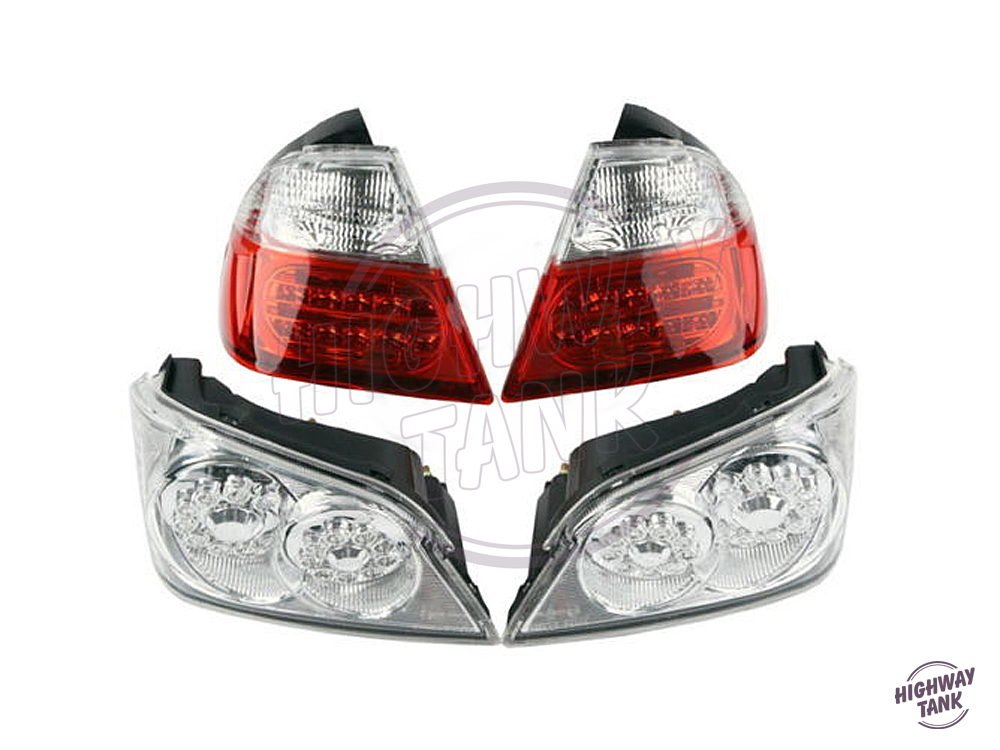 Motorcycle LED Brake Taillight Turn Signal Light Moto Brake Lights case for Honda GoldWind GL1800 2006 2011